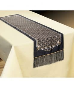 Hollywood Party Fabric Table Runner