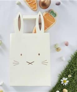 Hoppy Easter Rose Gold Bunny Party Bags