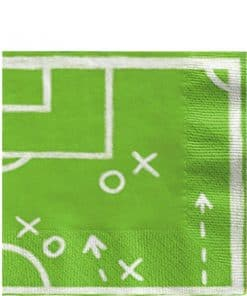 Kicker Football Party Paper Lunch Napkins
