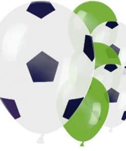 Kicker Football Party Printed Latex Balloons