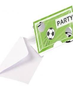 Kicker Football Party Invitations