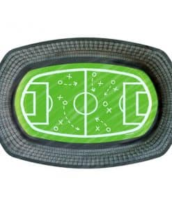 Kicker Football Party Paper Serving Trays
