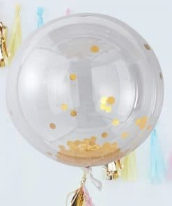 Pick & Mix Pastel Gold Confetti Giant Balloon