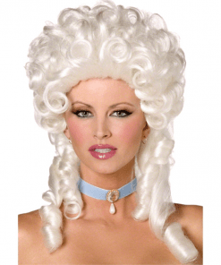 White Lady Baroque Adult Wig