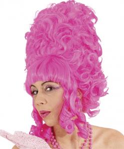 Lady Pompadour Ugly Sister Pink Adult Wig