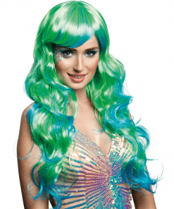 Mermaid Ombre Adult Wig