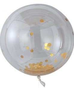 Pick & Mix Pastel Gold Confetti Giant Balloon