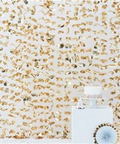 Pick & Mix Pastel Gold Photo Booth Backdrop