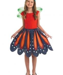 Red Woodland Fairy Costume