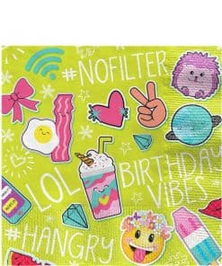 Selfie Celebration Party Paper Napkins