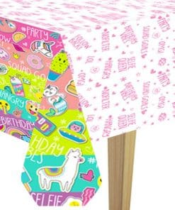 Selfie Celebration Party Paper Tablecover