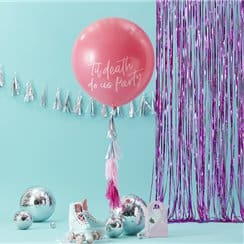 Good Vibes Party Giant Pink 'Till Death Do Us Party' Latex Balloon Kit