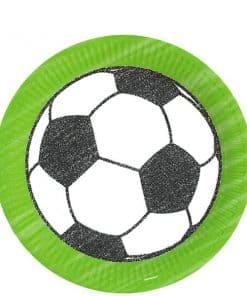 Kicker Football Party Paper Plates