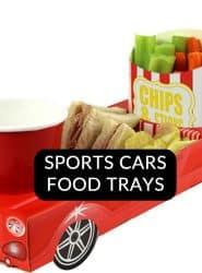 BUY SPORTS CAR FOOD TRAYS