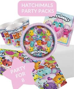 Hatchimals Themed Party Pack For 8