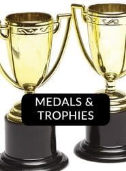 Buy Trophys & Medals For Racing Car Party