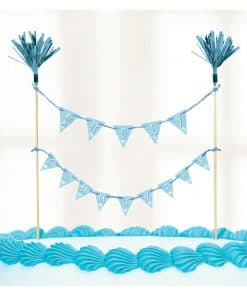 Communion Church Blue Cake Picks