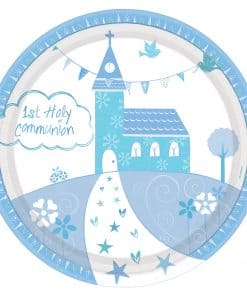 Communion Church Blue