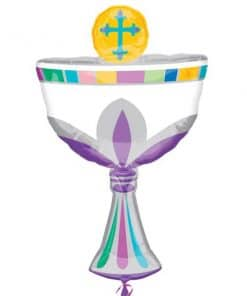 Communion Cup SuperShape Foil Balloon
