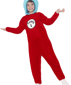 Dr Seuss Thing 1/2 Costume