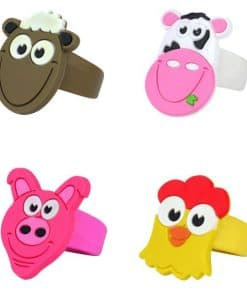 Farm Themed Party Bag Fillers - Animal Ring