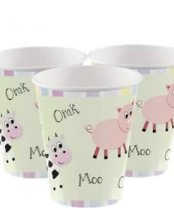 Farmyard Party Paper Cups