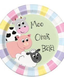 Farmyard Party Paper Plates