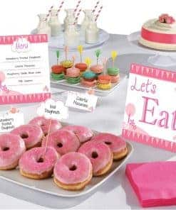 First Holy Communion Pink Party Buffet Kit
