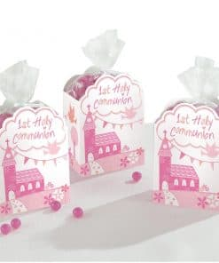First Holy Communion Pink Party Favour Gift Boxes
