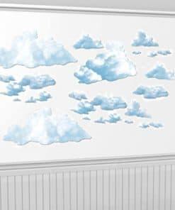 Fluffy Cloud Add-On Decorations