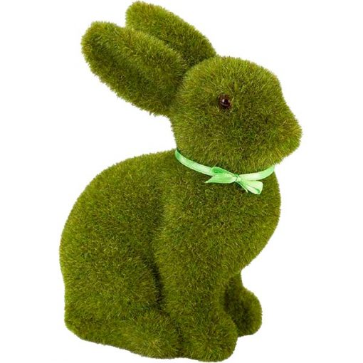 Green Grass Easter Bunny Decoration