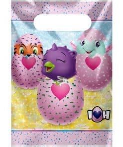Hatchimals Party Plastic Loot Bags