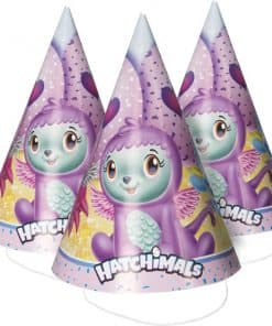 Hatchimals Party Cone Hats