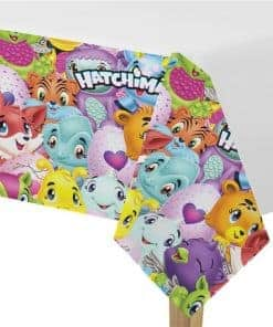 Hatchimals Party Plastic Tablecover