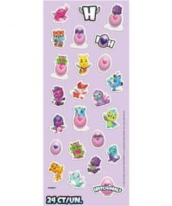 Hatchimals Party Puffy Stickers Sheet