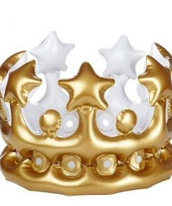 Kid's Inflatable Gold Crown