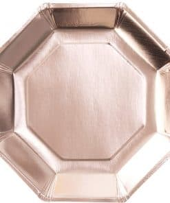 Pick & Mix Rose Gold Paper Plates