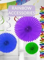 SEE RAINBOW PARTY ACCESSORIES