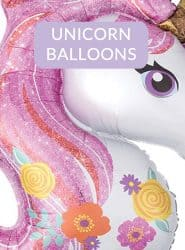 SEE UNICORN THEMED PARTY BALLOONS