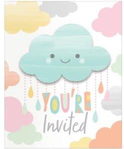 Sunshine Baby Showers Invitations
