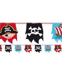 Captain Pirate Party Paper Bunting