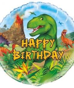 Dinosaur Adventure Party Birthday Balloon
