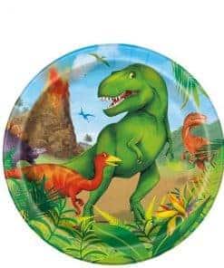 Dinosaur Adventure Paper Dessert Plates