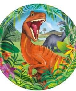 Dinosaur Adventure Party Paper Plates