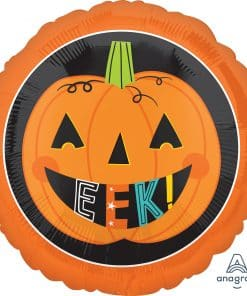 Eek! Pumpkin! Foil Balloon