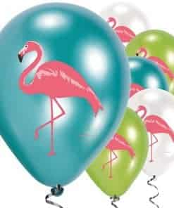 Flamingo Paradise Party Printed Flamingo Latex Balloons