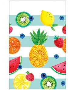 Fruit Salad Party Plastic Tablecover