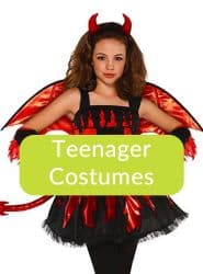 Halloween Teenagers Size Dressing Up Costumes