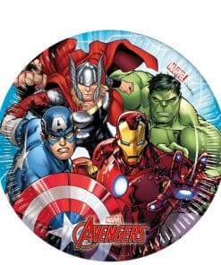 Mighty Avengers Party Dessert Plates