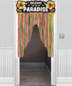 Neon Paradise Door Curtain